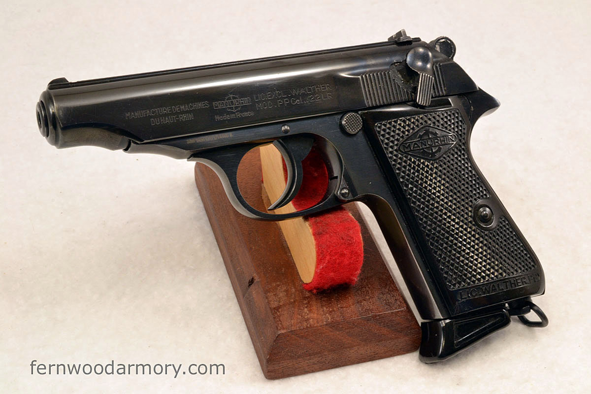 Walther Model PP .22LR Manurhin France