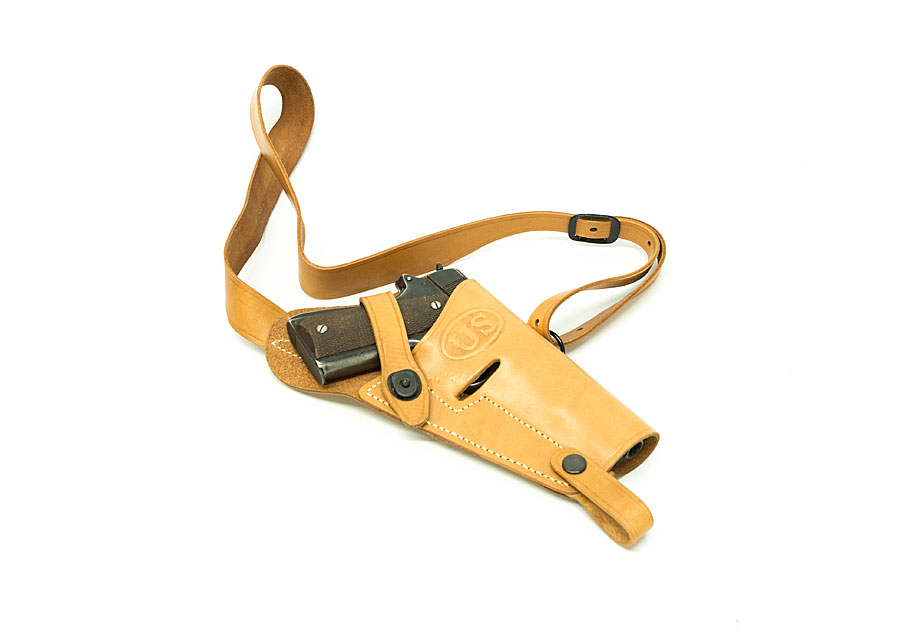 M-3 Leather Shoulder Holster 1911 Repro US