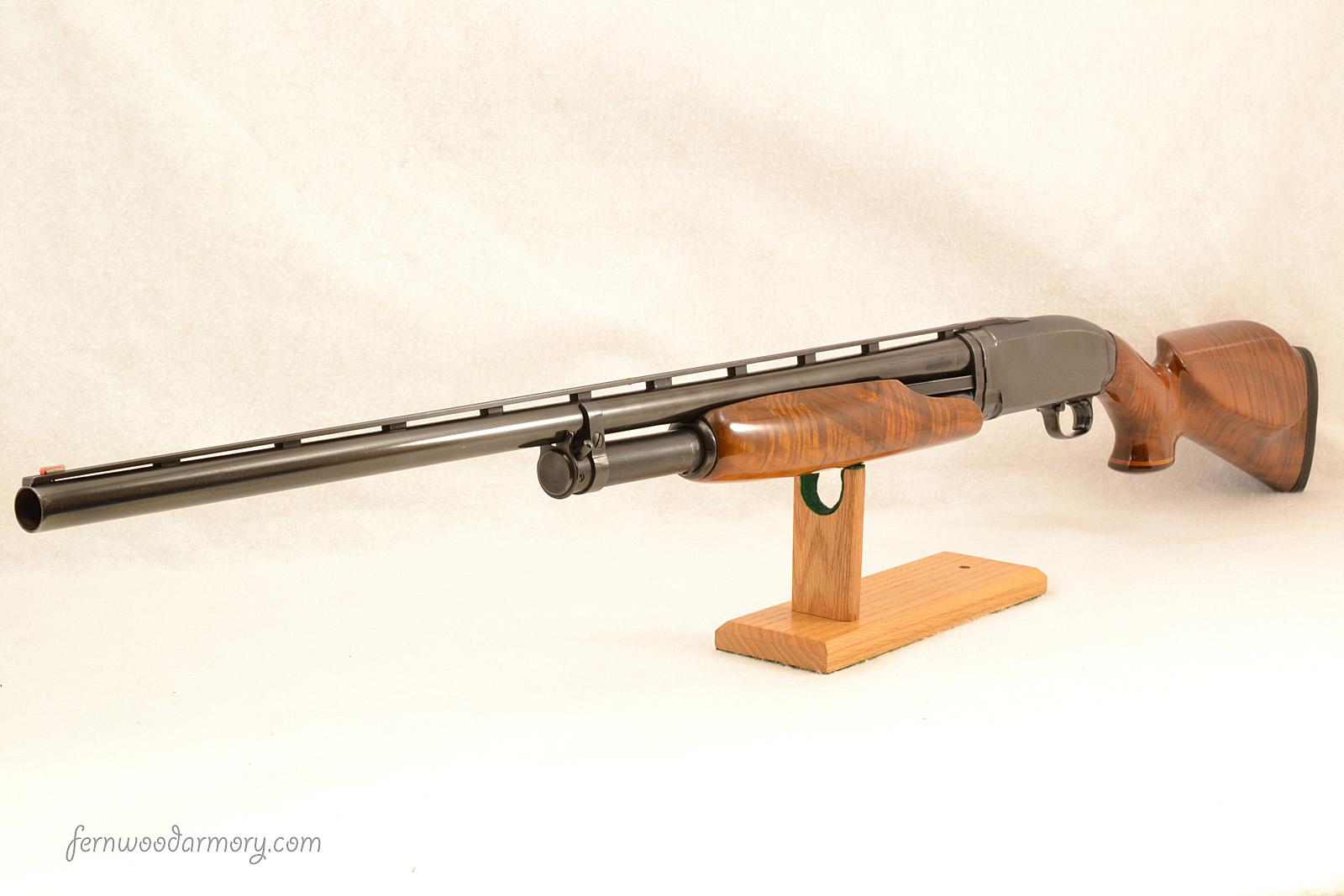 Winchester model 12 shotgun