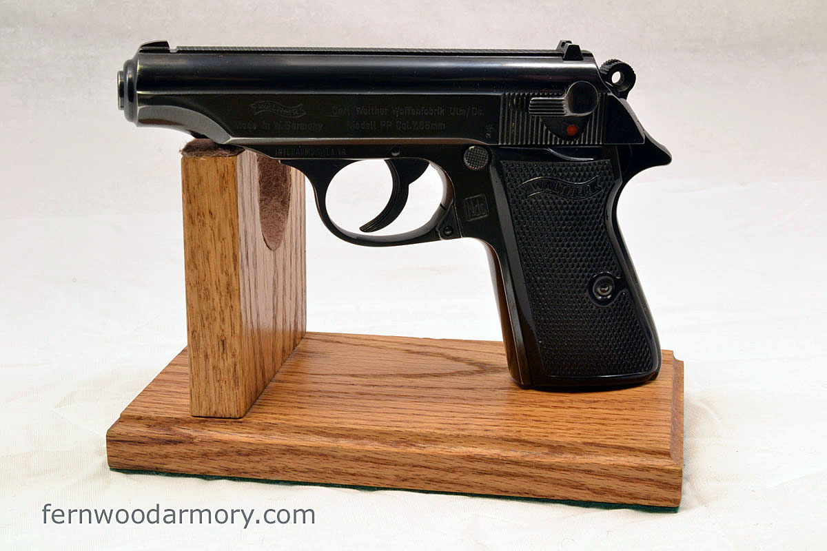 Walther PP .32 Auto (7.65) West German 1970