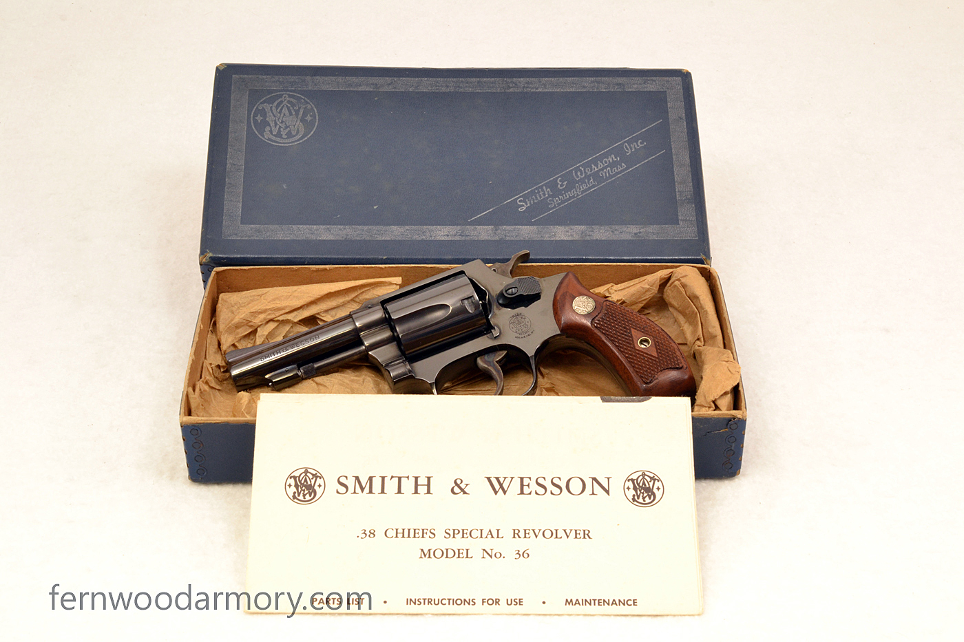 smith and wesson model 36 serial number date of manufacture