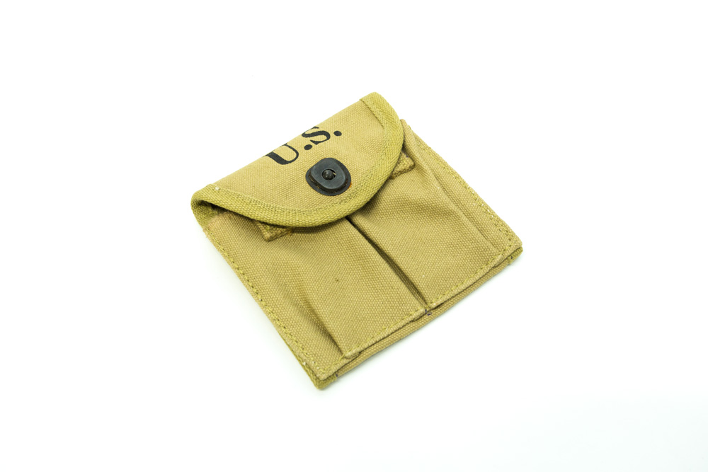 M1 Carbine 2 Pocket Magazine Pouch WW2 Reproduction