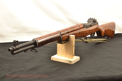 Springfield Armory M1 Garand with Deluxe Walnut Stock