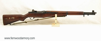 International Harvester M1 Garand with LMR Barrel 1954