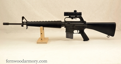 Colt AR-15 SP1 with 3X Scope Made in 1977